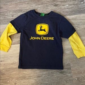 John Deere boys long sleeve shirt 3t